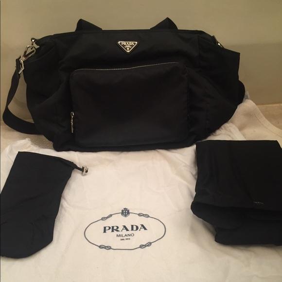 35896cbc4912 Prada Bags   Diaper Bag With Authenticity Card   Poshmark